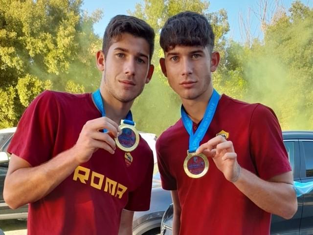 La Roma dei 2004 sa solo vincere, trionfo nel segno dei gemelli