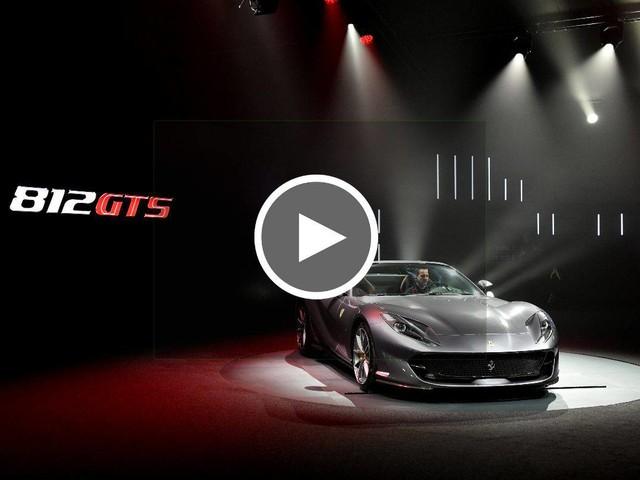 Ferrari 812 GTS, ritorna il motore V12 sulle spider di Maranello (VIDEO)