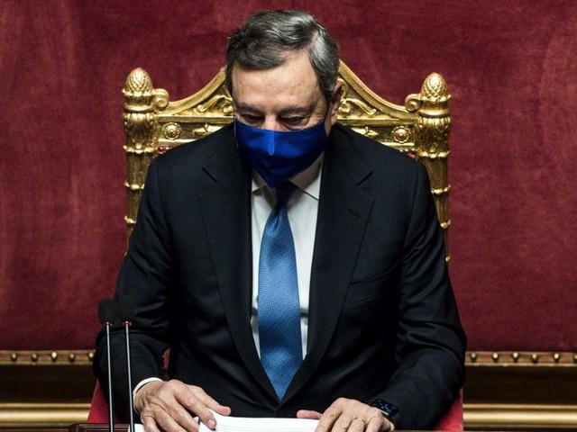 """Covid, Draghi: """"In Italia campagna vaccinale più spedita della media Ue"""""""