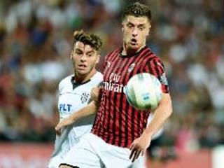 Roma e Juve vincono in amichevole, solo un pari per il Milan
