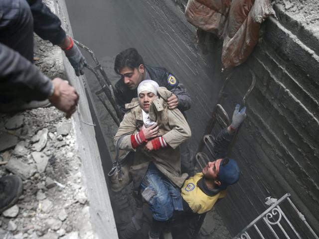 Cartoline dall'inferno del Ghouta
