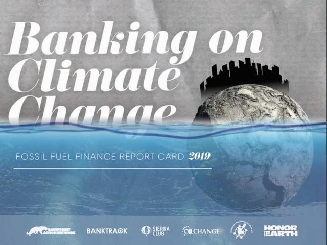 Dopo l'Accordo di Parigi, le banche globali hanno dato 1,9 trilioni di dollari ai combustibili fossili