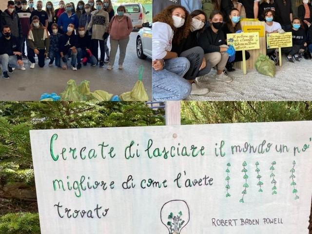 """""""PrendiAMOci cura della scuola"""", a Camerino 60 studenti monitorano l'abbandono dei rifiuti"""