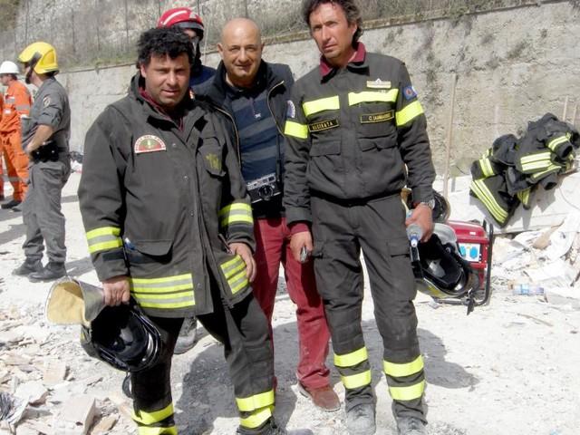 Terremoto a L'Aquila, dieci anni dopo: il ricordo del Funzionario dei Vigili del Fuoco di Macerata Iammarino e del reporter Picchio