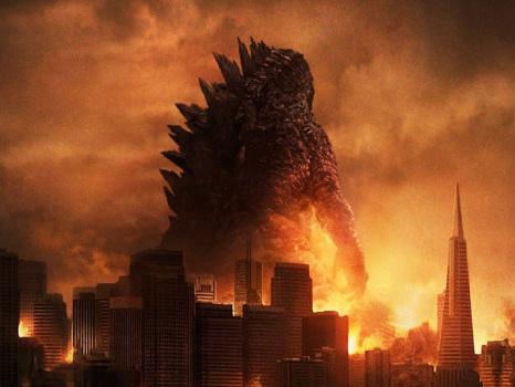 Godzilla: King of the Monsters, la furia del kaiju in una foto dal set