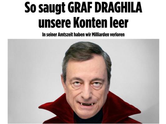 La dura reazione della stampa tedesca al bazooka di Draghi