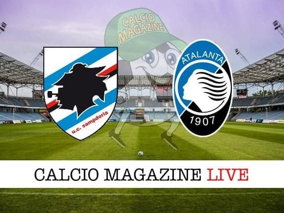 Sampdoria – Atalanta: cronaca diretta live, risultato in tempo reale