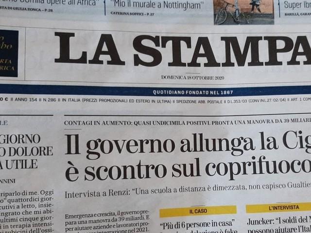 """Massimo Giannini dalla terapia intensiva: """"Se vogliamo contenere il virus, dobbiamo cedere quote di libertà"""""""