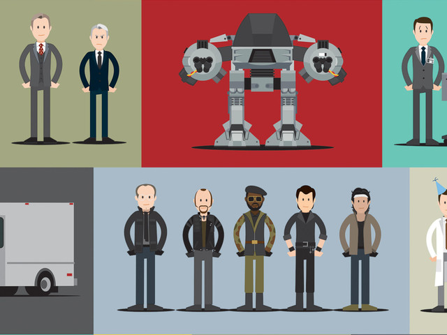 Relive All of RoboCop With This Single Poster