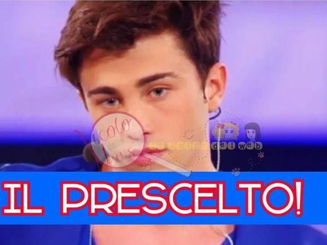 #amici16 Riccardo Marcuzzo è un predestinato alla vittoria del talent di Maria De Filippi? Arriva l'indizio della talpina…voi cosa pensate?