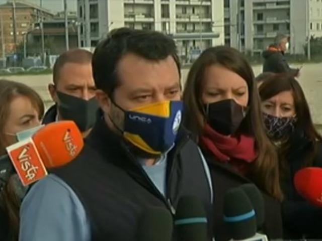 """Salvini: """"Chi vota il Mes finisce di essere compagno di strada della Lega"""""""