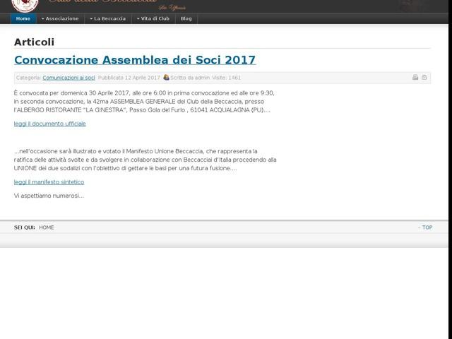 Convocazione Assemblea dei Soci 2017
