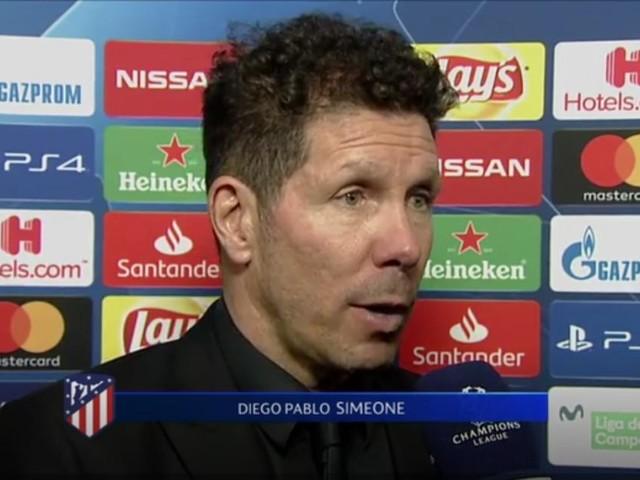 Simeone: 'La Juve ha attaccato molto bene ed ha meritato la vittoria'