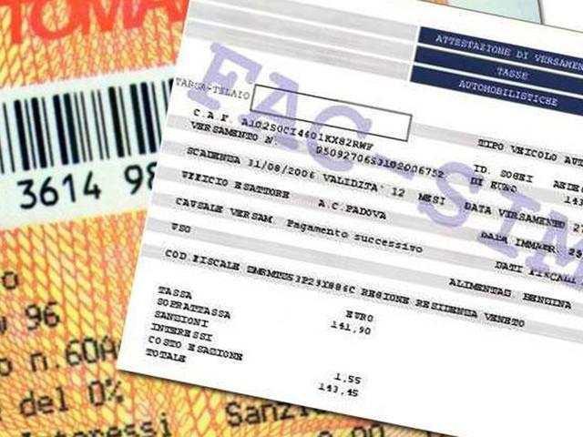Le targhe delle auto finiranno nella banca dati del Fisco