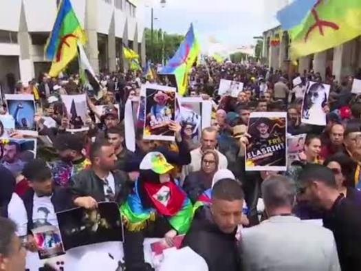 Marocco, proteste a sostegno del leader dei poveri