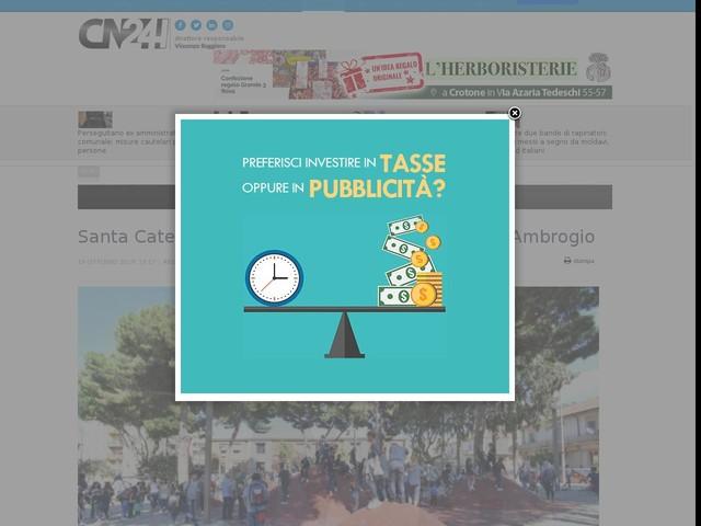 Santa Caterina: inaugurata la nuova piazza Sant'Ambrogio