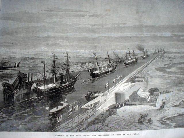 Suez, Cairo e Roma e i 150 anni di storia che hanno cambiato il Mediterraneo