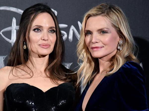 Jolie e Pfeiffer, due regine a Roma
