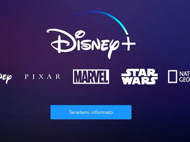 Disney + verrà lanciato in Italia il 31 marzo 2020