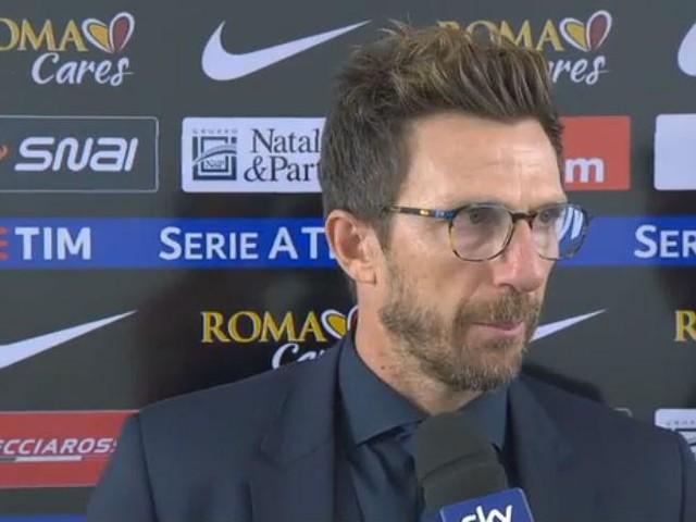"""Di Francesco: """"Potevamo segnare ancora, stiamo crescendo"""""""