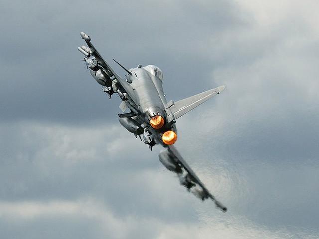 Le Germania ha perso due caccia Eurofighter in un incidente