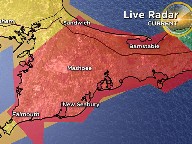 Tornado Warning Issued For Cape Cod
