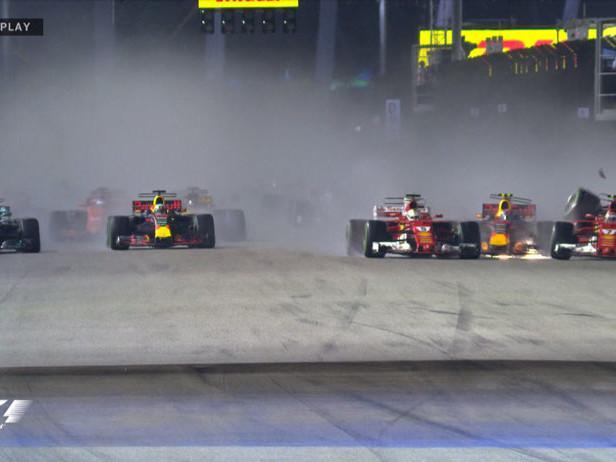 SingaBotto, la carambola Red Bull-Ferrari al via