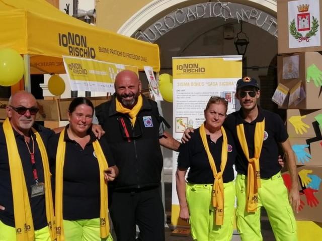 """San Severino, Piazza del Popolo tra le 500 piazze della campagna """"Io non rischio"""""""