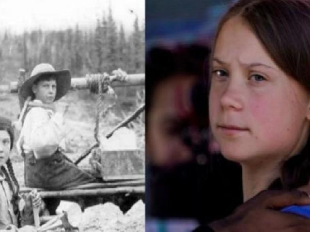Teoria del complotto in rete su Greta Thunberg: sarebbe una viaggiatrice del tempo