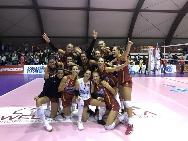 L'Acqua & Sapone Roma Volley batte per 3-0 la Sigel Marsala