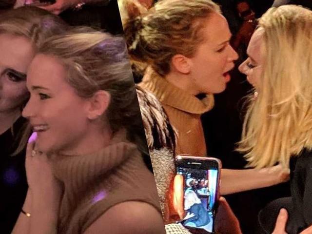 Adele e Jennifer Lawrence ubriache in un locale gay – la cantante finisce per terra (VIDEO)