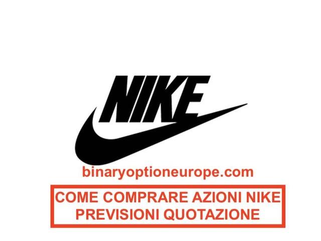 Dove e come comprare azioni Nike quotazione previsioni e dividendi [2021]