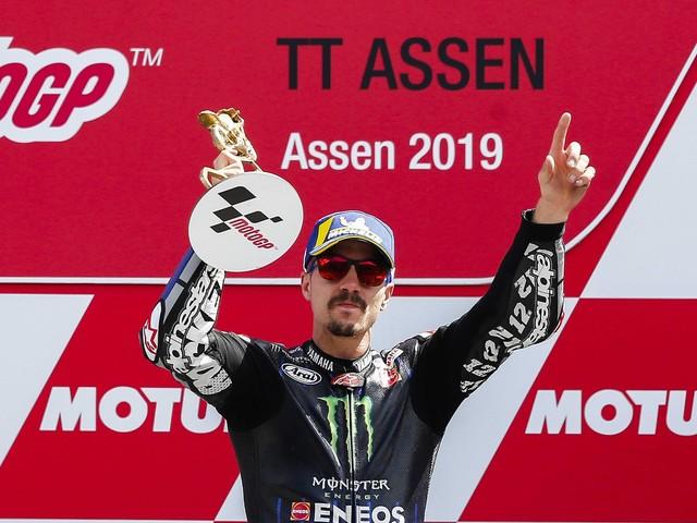 MotoGP, la strana domenica Yamaha Vinales vince e convince Valentino Rossi invece delude