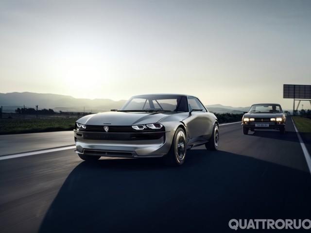 Peugeot e-Legend - Elettrica e autonoma con linee rétro