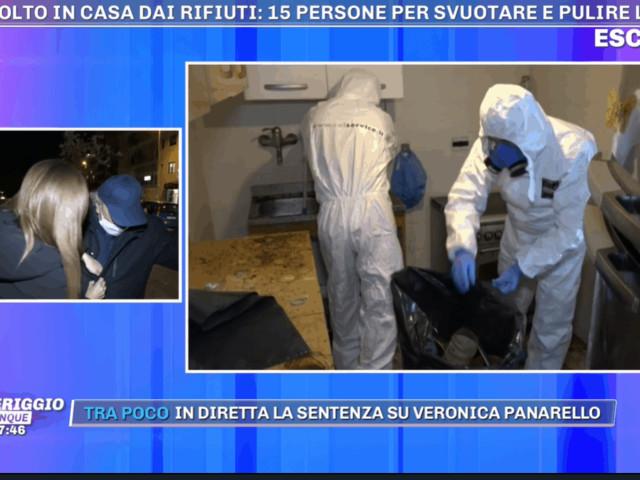 """Umberto non è più un """"sepolto in casa"""": grazie a Pomeriggio 5 adesso ha una casa pulita"""
