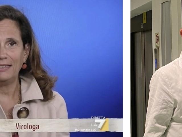 """Covid, Bassetti stronca la Capua: """"Veterinaria confusa sui vaccini"""""""