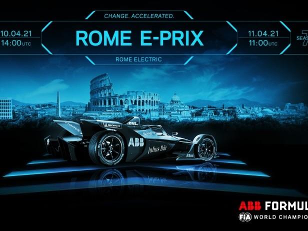 Formula E, ePrix Roma: un tracciato tutto nuovo per due sfide spettacolari live su Sky