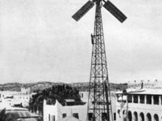 L'energia rinnovabile dell'Italia coloniale: pale eoliche sperimentali per la Somalia.