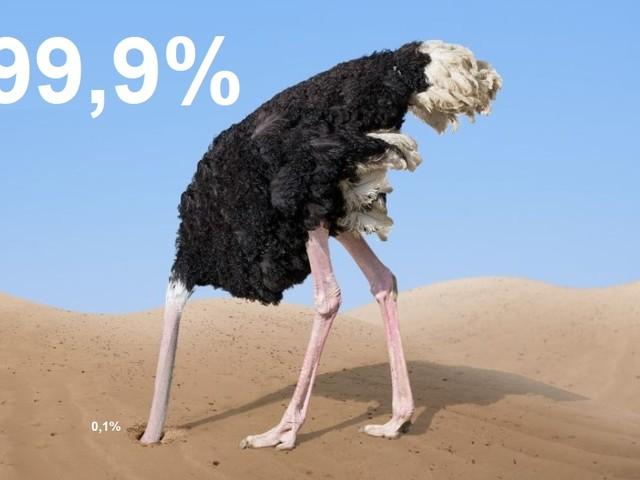 Più del 99,9% degli studi concorda sul fatto che gli esseri umani stanno causando il cambiamento climatico