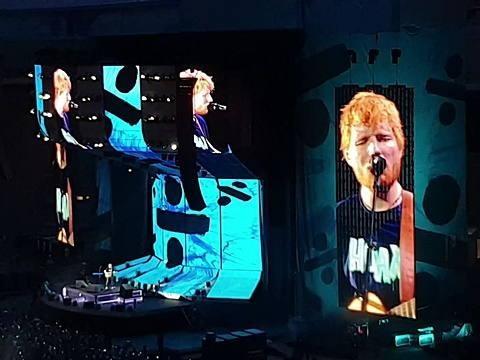 Ed Sheeran: il suo Divide Tour batte il record di incassi degli U2