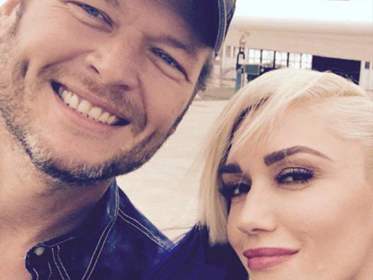 Gwen Stefani festeggia due settimane di matrimonio