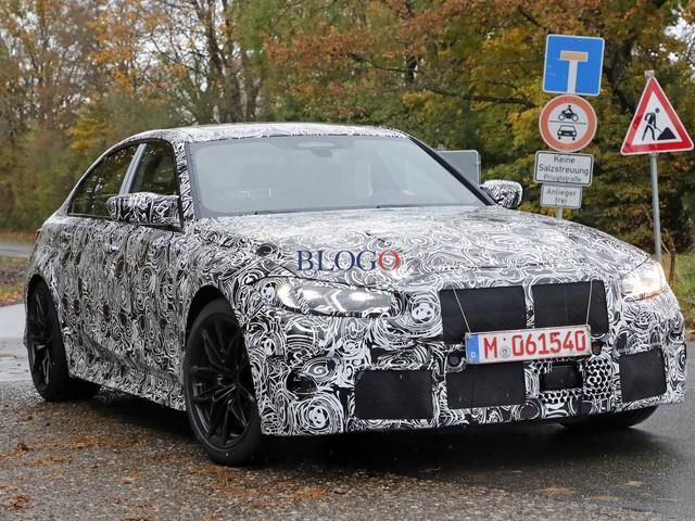BMW M3: nuove foto spia per il modello G80