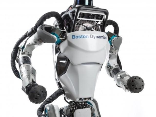 Il robot Atlas di Boston Dynamics vanta anche abilità di ginnasta