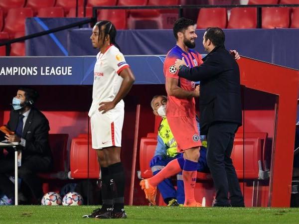 Chelsea, Lampard su Giroud: 'Professionista vero, un esempio per tutti'