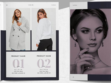 39 Stylish Lookbook Template Designs (Brand, Fashion, Product, and More)