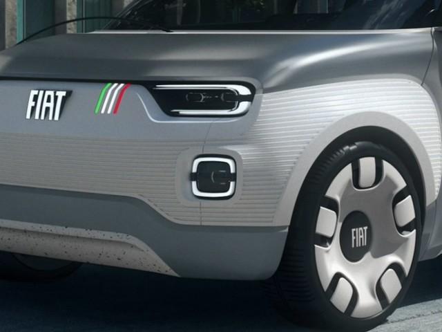 La Fiat Panda elettrica del futuro in mostra a Modena