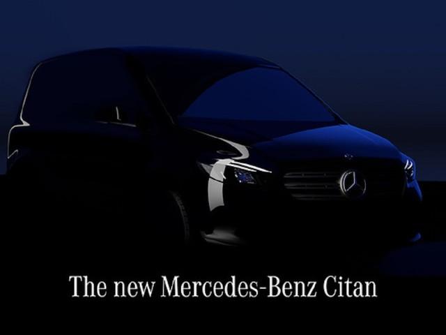 Mercedes eCitan: in arrivo il nuovo furgone elettrico