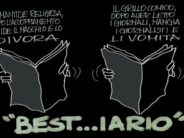 La satira: il «best…iario» di Beppe Grillo.