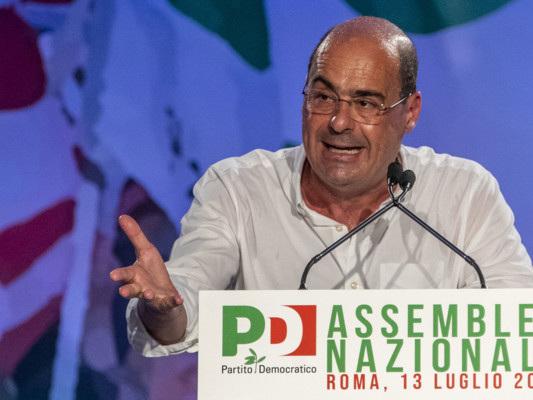 Zingaretti ha elencato i punti del programma del nuovo Pd