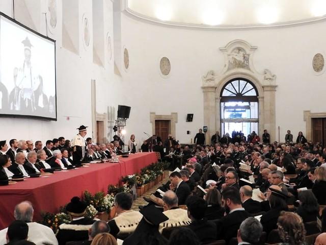 Università, inaugurato l'anno accademico al monastero dei Benedettini